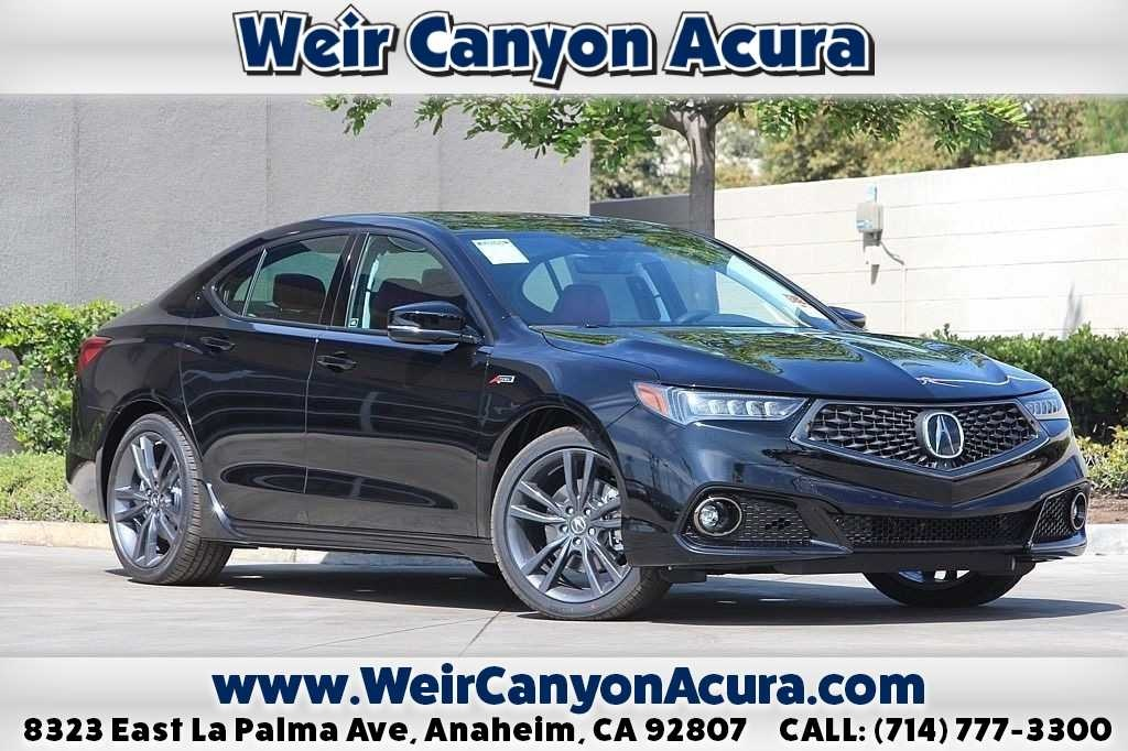 New 2019 Acura TLX 3.5 V-6 9-AT SH-AWD with A-SPEC RED AWD 4D Sedan