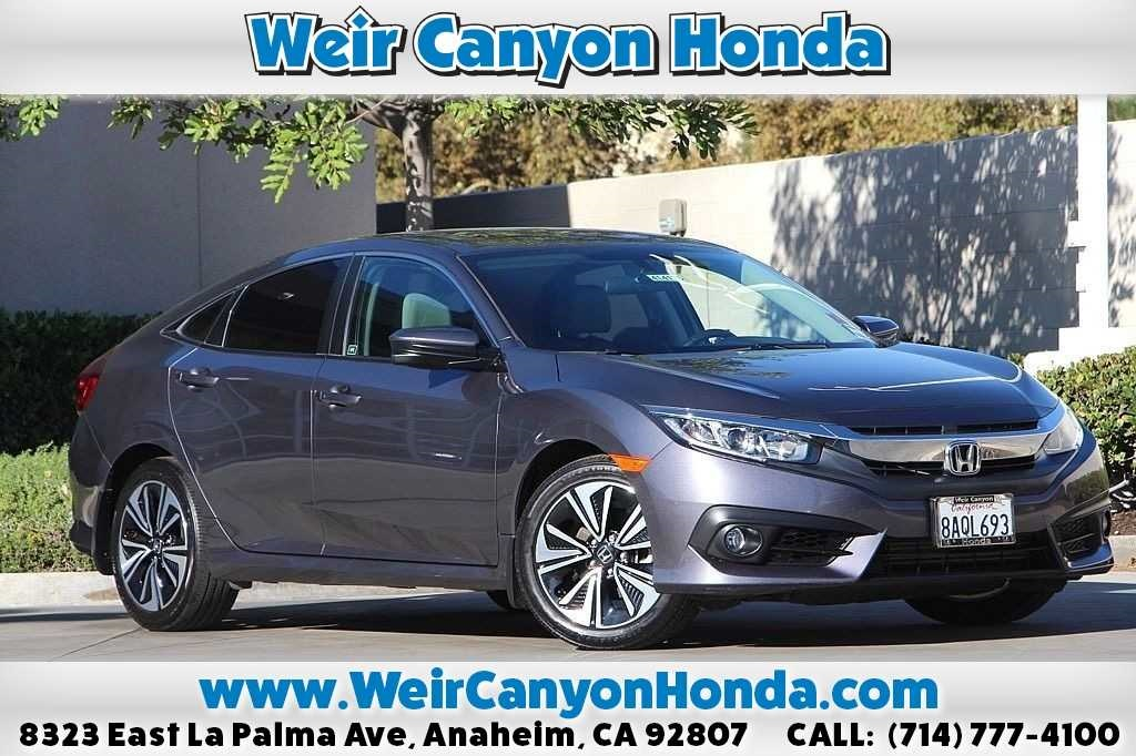 Pre Owned 2017 Honda Civic Ex T
