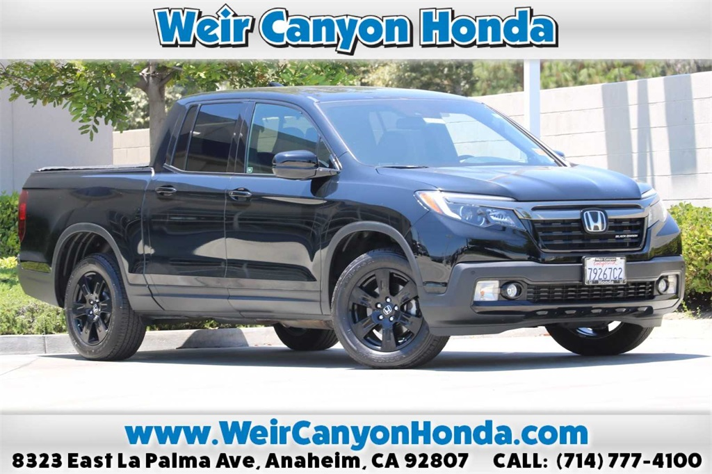 Pre-Owned 2018 Honda Ridgeline Black Edition