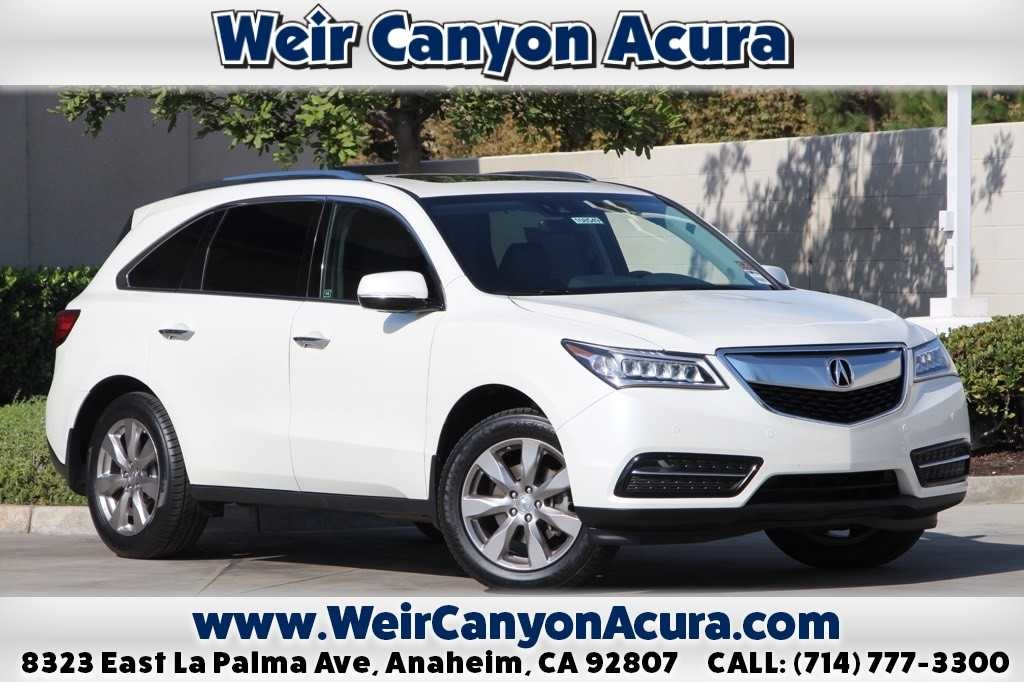 Certified PreOwned Acura MDX With Advance Package D Sport - Pre own acura