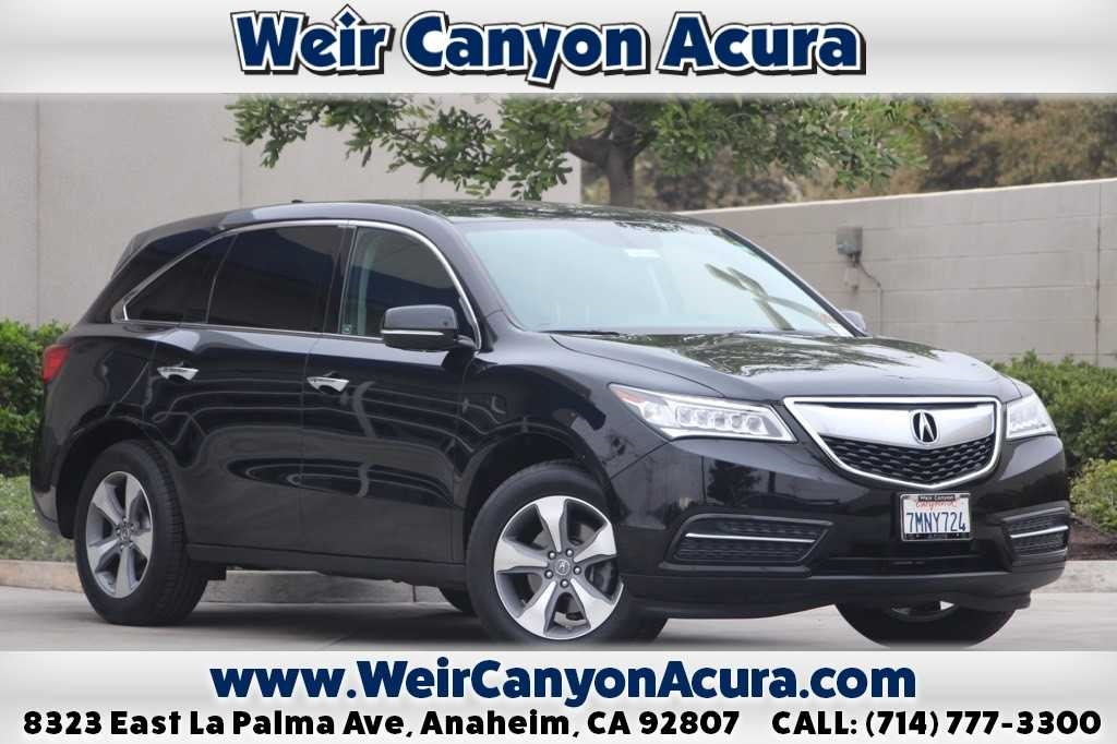 Certified PreOwned Acura MDX SHAWD D Sport Utility In - Pre own acura
