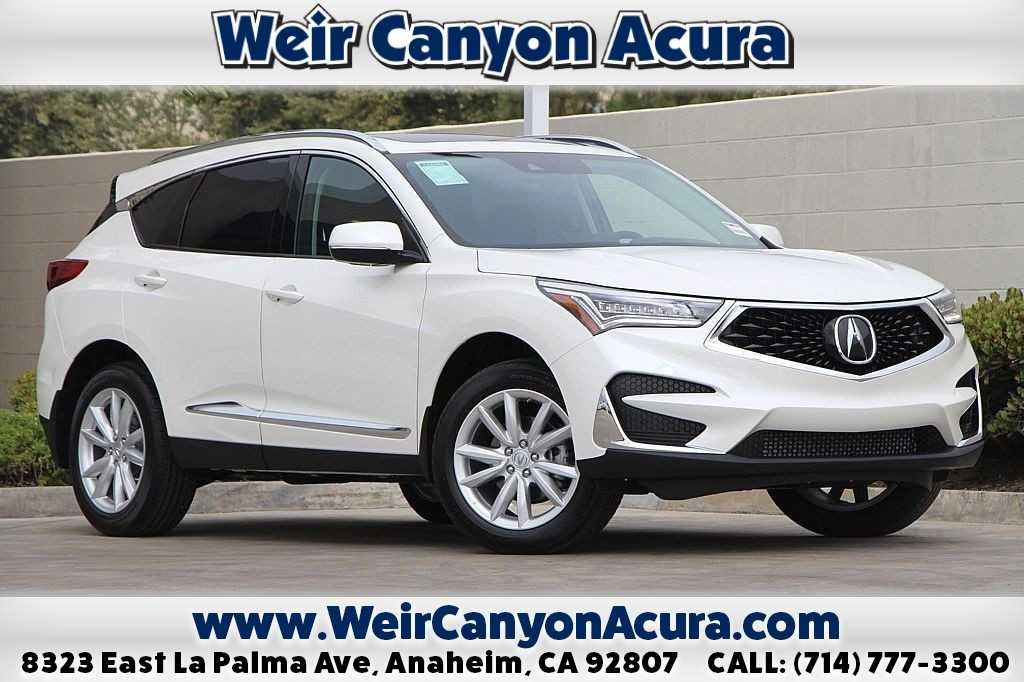 New 2019 Acura Rdx Base 4d Sport Utility In Anaheim 00022847 Weir