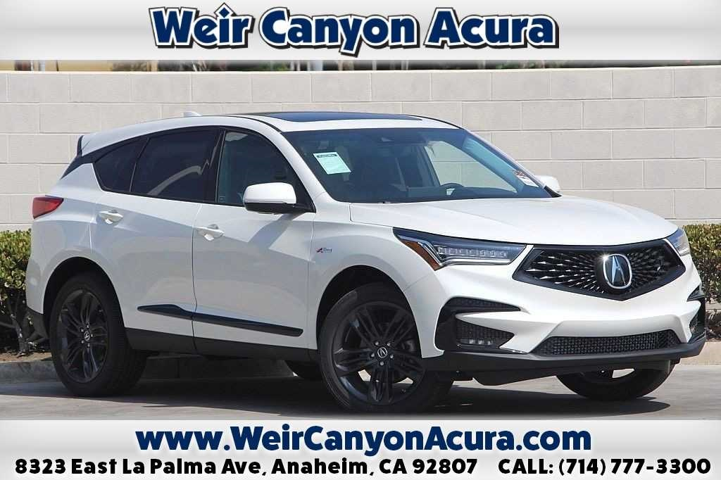 New 2019 Acura Rdx With A Spec Package 4d Sport Utility In Anaheim