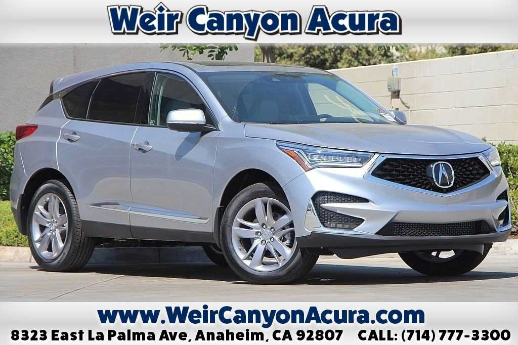 New 2019 Acura RDX ADVANCE FWD 4D Sport Utility