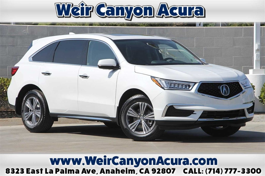 New 2020 Acura MDX Base FWD 4D Sport Utility