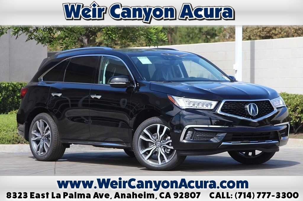 New 2019 Acura MDX ADVANCE 6P FWD 4D Sport Utility
